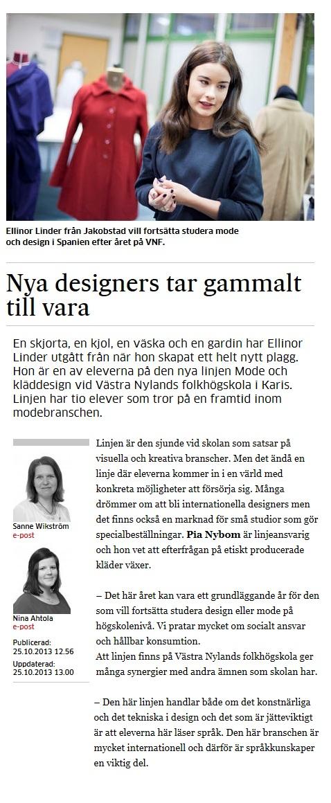 Västra nyland artikel2